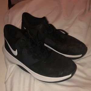 Nike black basketball sneakers